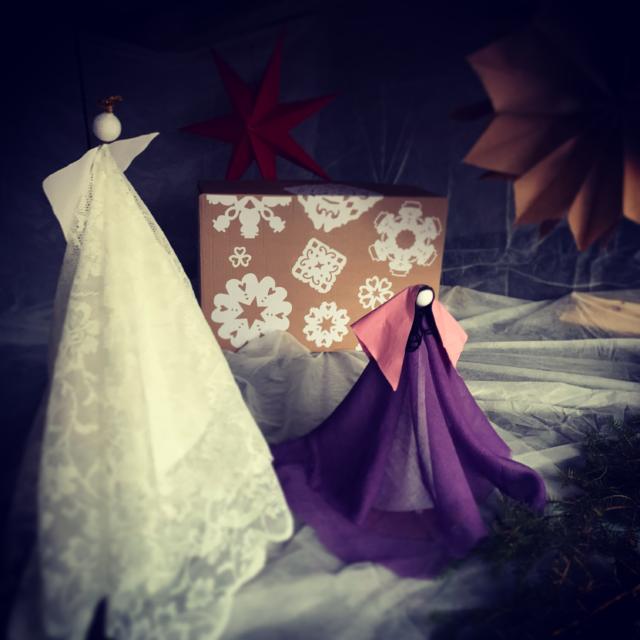 Adventsvandring 1:a Advent, Ängeln möter Maria