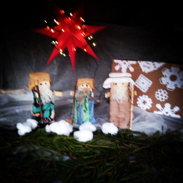 3:e Advent, Hedarna och ljuset