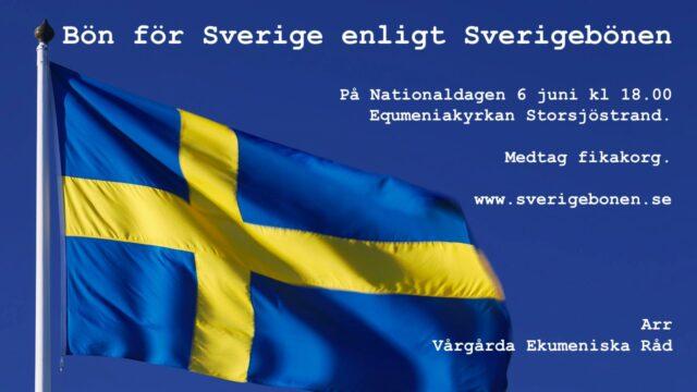 Bön för Sverige
